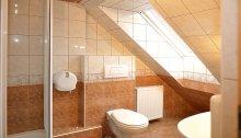 Poddasze - łazienka